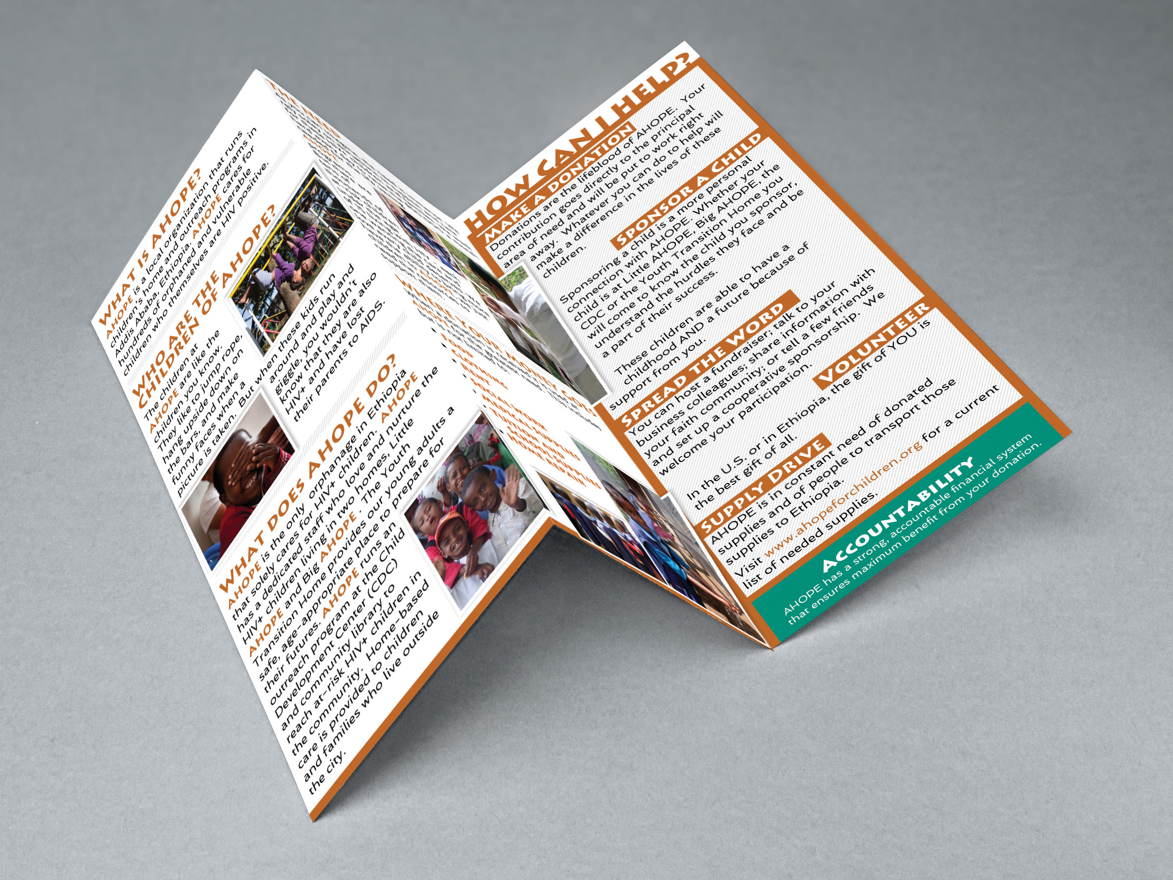 AHOPE for Children Brochure
