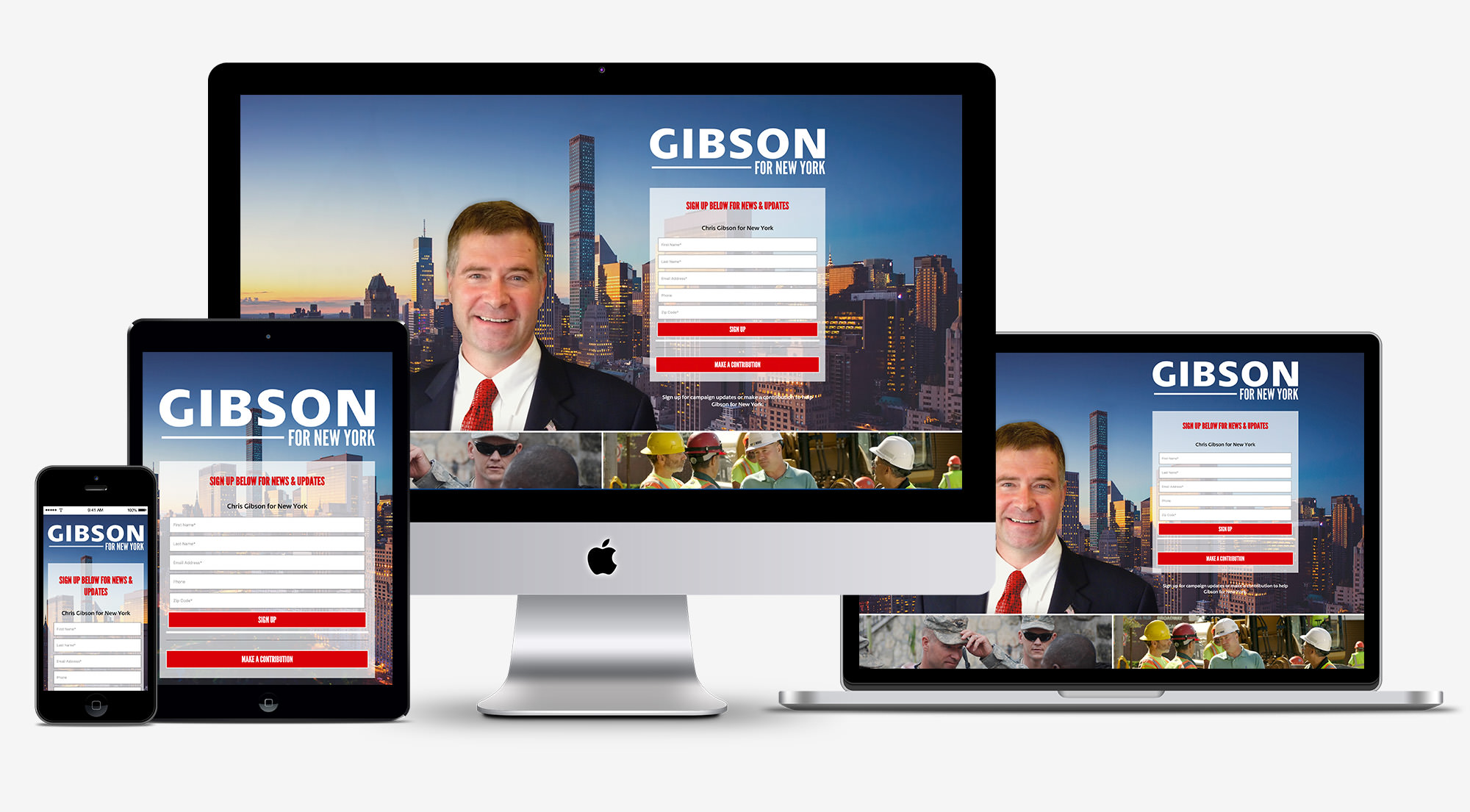 Gibson for New York